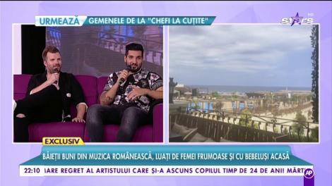 Băieții buni din muzica românească, luați de femei frumoase și cu bebeluși acasă