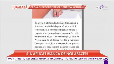 Bianca Drăgușanu s-a apucat de noi afaceri. Vedeta vinde lucrurile altora