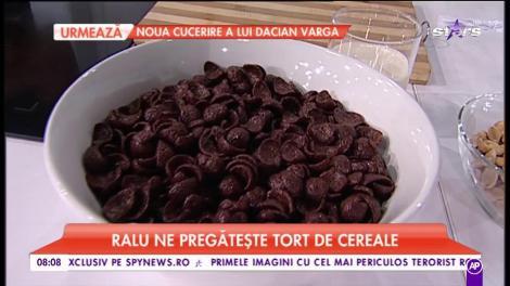 Deliciul zilei! Tort de cereale