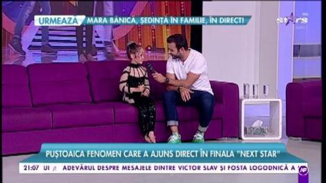 """Bianca Purice, puștoaica fenomen care a ajuns direct în finala """"Next Star"""""""
