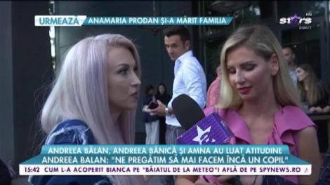Mămicile Andreea Bălan, Andreea Bănică și Amna au luat atitudine în fața cârcotașilor