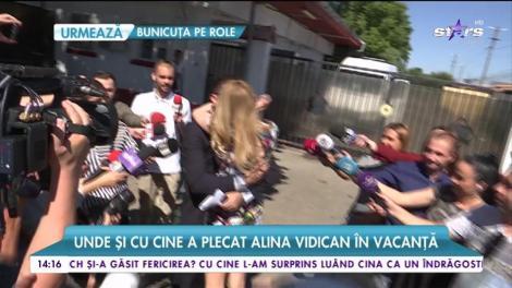 Alina Vidican a plecat în Turcia cu cei doi copii ai săi