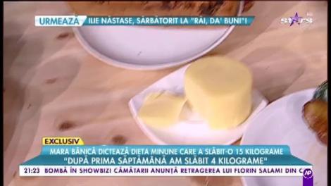 """Mara Bănică dezvăluie DIETA minune! Topești 15 kilograme peste noapte! """"Cel mai mult dați jos în prima săptămână"""""""