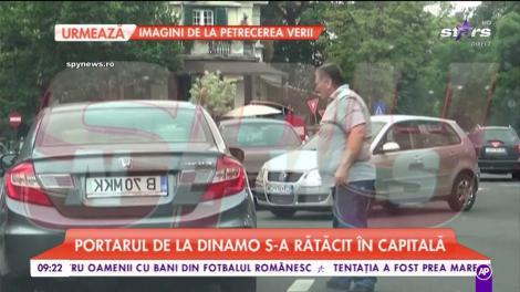 Jaime Penedo, portarul echipei Dinamo, protagonistul unor momente uluitoare pe străzile Capitalei
