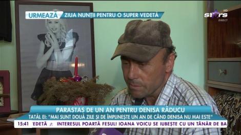 Imagini de la parastasul Denisei Răducu! Familia artistei a pregătit un meniu ca la nuntă
