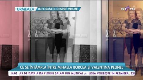 Mihaela Borcea şi Valentina Pelinel au rupt orice formă de legătură
