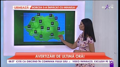 Meteo 23 Iulie 2018, avertizări de ultimă oră! Se anunţă ploi şi vijelii în toată ţara