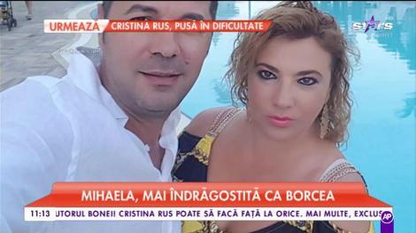 Mihaela Borcea şi-a găsit liniştea în braţele altui bărbat, iar el reuşeşte să o facă să radieze de fercire