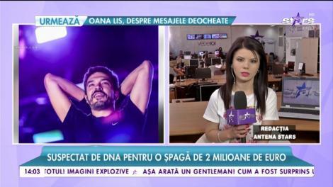 Adrian Despot, căutat de DNA prin conturi. Prezentatorul este suspectat pentru o șpagă de 2 milioane de euro