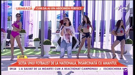Maria cântă live la Star Matinal