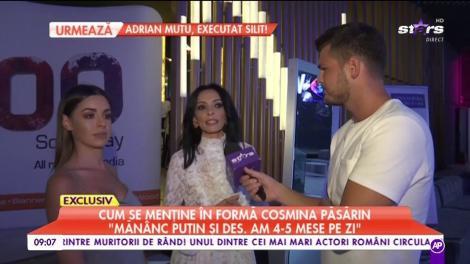 Cosmina Păsărin, despre căsătorie și rochia de mireasă
