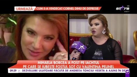 Mihaela Borcea a fost pe iachtul pe care se iubește fostul soț cu Valentina Pelinel