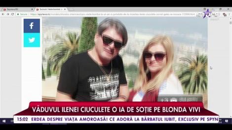 La nici doi ani de la moartea Ilenei Ciuculete, Cornel Galeș se însoară