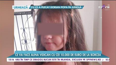 Ce va face Alina Vidican cu cei 10.000 de euro de la Borcea