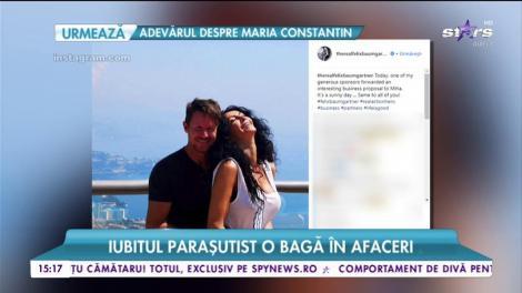 Felix Baumgartner o bagă pe Mihaela Rădulescu în afaceri