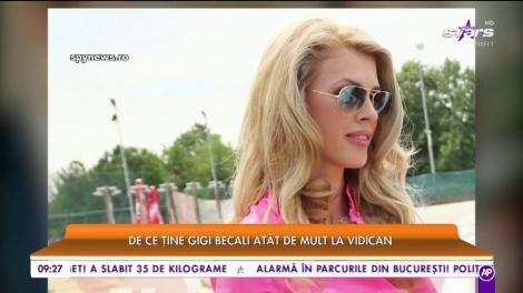 Gigi Becali nu a uitat de fina Alina Vidican! De ce ţine atât de mult latifundiarul la fosta soţie a lui Cristi Borcea