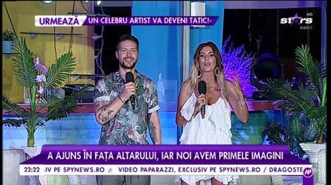 Nicolai Tand și Monica s-au căsătorit