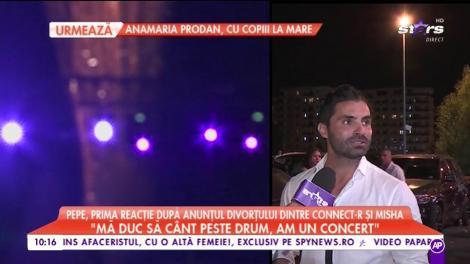 """Pepe, declaraţii exclusive despre despărţirea dintre Connect-r şi Misha: """"Sunt alături de amândoi"""""""