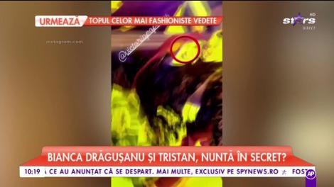 Nimeni nu se aștepta să se întâmple atât de devreme! Bianca Drăgușanu și Tristan, nuntă în secret?