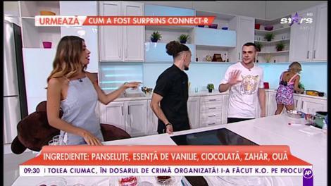 """Secretul unui desert de nota 10! Răzvan Constantin, fost concurent la """"Chefi la cuțite"""", pregăteste """"Lava Cake"""""""