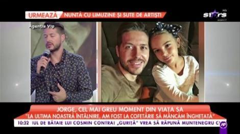 """Lovitură pentru Jorge, după ce a divorțat: """"Când am primit vestea că fetița mea..."""""""