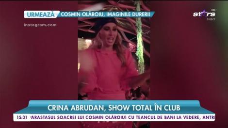 Crina Abrudan a făcut un show de zile mari într-un club de pe litoralul românesc
