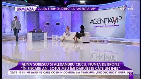 Alina Sorescu şi Alexandru Ciucu, nunta de bronz!