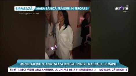 Andrei Ştefănescu și gașca lui, show total la un party