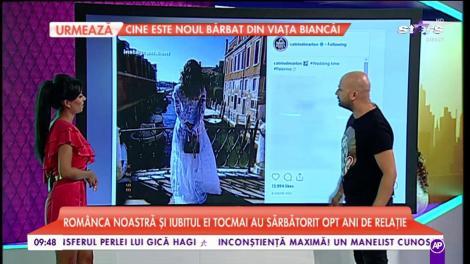 Catrinel Menghia a îmbrăcat rochia albă. Avem imaginile cu românca nostră!