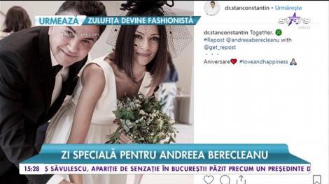 Zi specială pentru Andreea Berecleanu. Ce a făcut frumoasa prezentatoare la doi ani de la nuntă