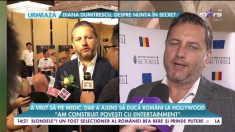 """Eduard Irimia a vrut să fie medic, dar a ajuns să ducă români la Hollywood: """"Eroii pe care i-am construit au fost cu povești de entertainment"""""""
