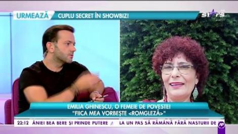 Emilia Ghinescu cântă muzică populară, dar se face psiholog în securitate naţională!