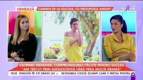 Catrinel Menghia, compromisurile făcute pentru succes