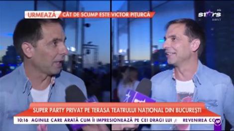 Super party privat pe terasa Teatrului Naţional din București