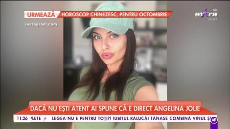 Risha este cea mai cunoscută sosie a celebrei actrițe Angelina Jolie