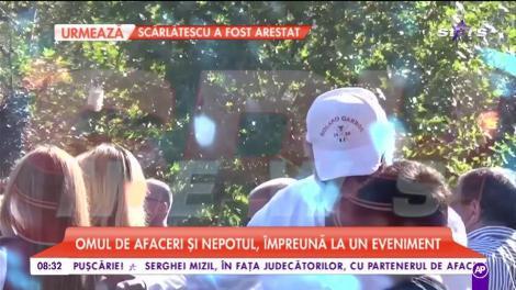 Ion Țiriac şi-a petrecut o întreagă zi împreună cu nepotul său