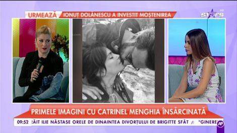 Totul despre sarcina lui Catrinel Menghia