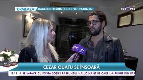 Cezar Ouatu se însoară! Artistul vorbește despre nunta cu iubita sa