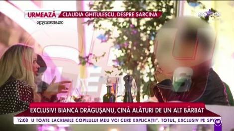 Bianca Drăgușanu, cină alături de un alt bărbat