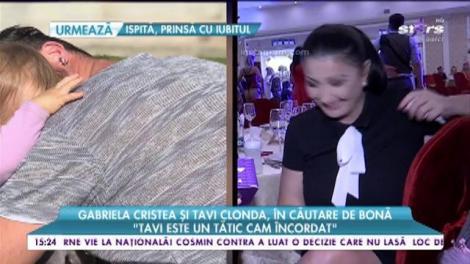Gabriela Cristea şi Tavi Clonda s-au hotărât să caute o bonă pentru micuţa Victoria