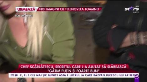 """Chef Cătălin Scărlătescu, detaliul care l-a ajutat, de fapt, să slăbească: """"Am dat 53 de kilograme jos"""""""