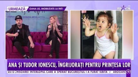 Fetița lui Tudor și Anamaria Ionescu, de urgență, la spital! Copila a ajuns pe mâna medicilor