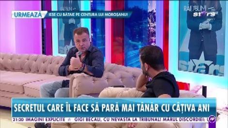 Adrian Enache, secretul care îl face să pară mai tânăr cu câțiva ani