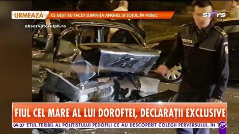 Fiul mijlociu al lui Adrian Doroftei a provocat un accident, în Ploieşti