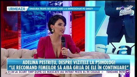 Adelina Pestrițu, despre depresia postnatală