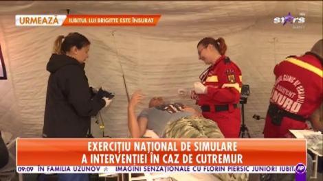 Exercițiu național de simulare a intervenției în caz de cutremur