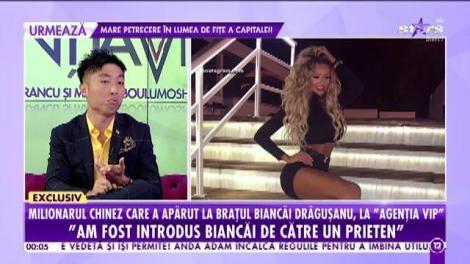 """Ryan Feng, milionarul chinez care a apărut la brațul Biancăi Drăgușanu: """"Mie îmi plac femeile mai naturale"""""""