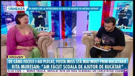 De când fiicele i-au plecat de acasă, Rita Mureșan stă mai mult prin bucătărie. De ce nu poate să slăbească fosta Miss a României?