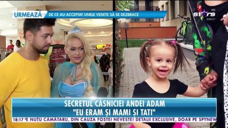 """Secretul căsniciei Andei Adam: """"Ar fi ideal să avem și un băiețel"""""""