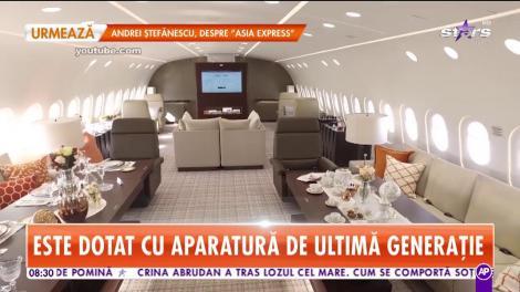 Avionul vedetelor şi al afaceriştilor miliardari. Bijuteria cu aripi a costat 400 de milioane de euro
